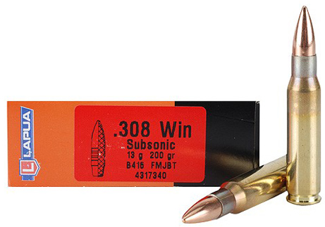 .308 Win Subsonic FMJBT 13,0 g